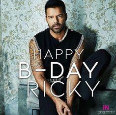 Ricky Martin, Happy B Day, Artwork, Fictional Characters, Singers, Birthday, Happy Brithday, Happy Birthday, Work Of Art
