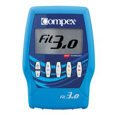 Compex FIT electrostimulation device restores strength and muscle tone while relieving pain. It features 4 channels and 20 programs. Drainage, 6 Pack, Muscle Tone, Yoga, Natural Health, Fitbit, Exercise, Workout, Tone It Up