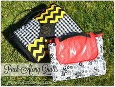 .Quiltscapes.: Fancy Finishes: Pack-Along Quilts!