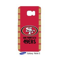 San Francisco 49ers Samsung Galaxy Note 5 Case Cover Wrap Around