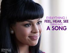 Everything I feel, hear, see turns into a #song - #Sparkle