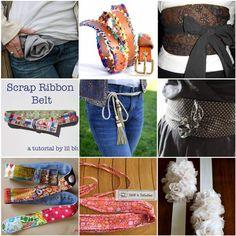 ceintures Plus de 10 tutoriels de couture pour fabriquer une jolie ceinture