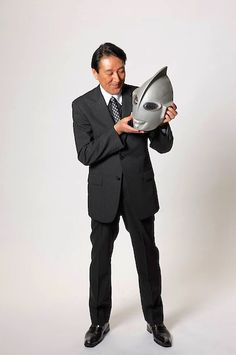 Bin Furuya (古谷敏 Furuya Bin), better known as Satoshi Furuya is a Japanese suit actor born July 5, 1943 (age 73) best known for his uncredited portrayal of the title character in the 1966 series Ultraman.[1] Furuya would later portray the character Amagi in the sequel series Ultra Seven.[2] Furuya has also made appearances in Gorath, Ghidorah, the Three-Headed Monster, Ultraman Zearth and Mega Monster Battle: Ultra Galaxy.