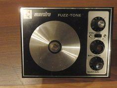 Vintage Fuzz Maestro Fuzz Pedal FZ 1S -60's