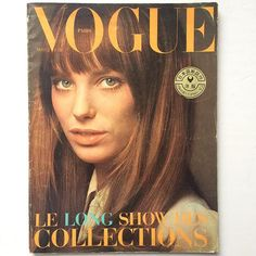 Life on Mars. The Mars 1970 Paris Vogue. Jane Birkin cover Jane Birkin models. The collections special. One of those issues that can be the best issue ever. And right now IS! Totally stunning EVERY PAGE. Email if you want@idea-books.com #paris #vogue #march #1970 #janebirkin #courreges by ideabooksltd