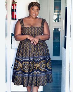 Latest African Fashion Dresses, African Dresses For Women, African Print Fashion, Summer Dresses For Women, African Clothes, African Prints, Sotho Traditional Dresses, South African Traditional Dresses, Traditional Outfits
