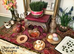 Our haft sin for persian new year 2015
