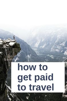 I've always wanted to get paid to travel, and make traveling a career. I've found a way to travel the world while making money traveling, and this is how it works. I've outlined how you can also travel and be paid money for it. Travel Careers, Travel Jobs, Travel Money, Ways To Travel, Travel Advice, Places To Travel, Travel Destinations, Travel Hacks, Work And Travel