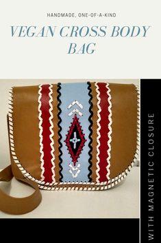 #vegan #one-of-a-kind handmade bag, native-inspired ❤️ Handmade Bags, Espadrilles, Crossbody Bag, Vegan, Inspired, Creative, Inspiration, Espadrilles Outfit, Biblical Inspiration