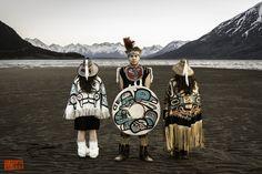 Tlingit Potlatch by Daniel Fox, via Behance