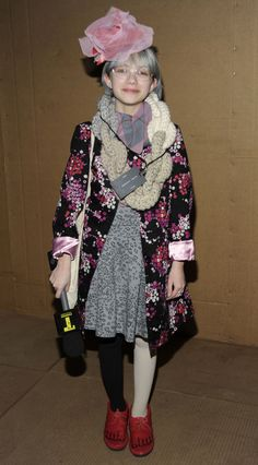 Tavi Gevinson== MARC JACOBS Fall 2010 Collection== NY State Armory, NYC== February 15, 2010== © Patrick McMullan== Photo - BILLY FARRELL/PatrickMcMullan.com== ==