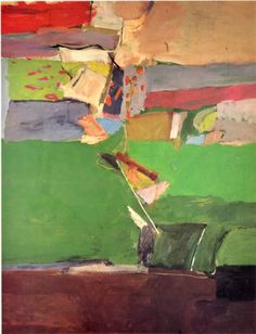 Berkeley No. 13 by Richard Diebenkorn #Abstract_Expressionism