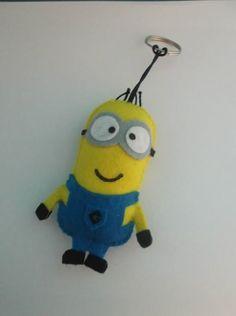 chaveiro minion - encomendas pela minha página no facebook  https://www.facebook.com/Boutique-Geek-190519287960073/?fref=ts