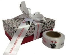 Vamers Gaming, Branded Gift Boxes, 2 sizes with ribbon to match :) Branded Gifts, Gift Packaging, Gift Boxes, Gaming, Ribbon, Projects, Tape, Log Projects, Videogames
