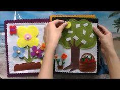 handmade - how to make quiet books? [gift ideas for children] - YouTube