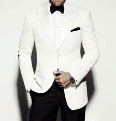 (Jackets+Pants) 2017 New Custom men wedding suits Slim Fit groom Tuxedo Brand ivory Bridegroon Business Dress mens Suit Blazer. White Tuxedo Wedding, Ivory Tuxedo, Groom Tuxedo, White Tuxedo Jacket, Black And White Tuxedo, Cream Jacket, James Bond Suit, Bond Suits, James Bond Tuxedo