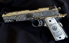 Ruger's One Millionth Gun of 2012 - exquisite engraving