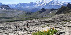 Désert de Platé, avec vue sur le Mont Blanc