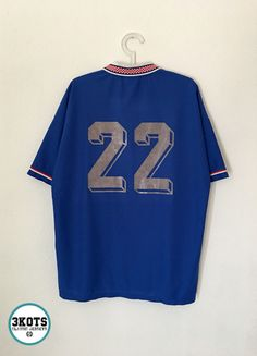 1568106d3 Advertisement(eBay) BISAN Dinamo Zagreb 1999 00 Home Football Shirt 2XL Soccer  Jersey