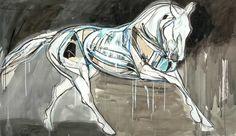 Equine Art: Jo Taylor - Alabaster Horse