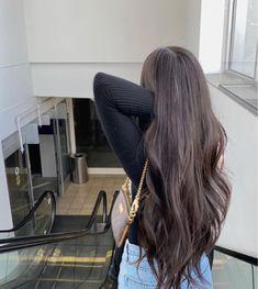 Pretty Hairstyles, Straight Hairstyles, Hair Inspo, Hair Inspiration, Honey Hair, Dye My Hair, Aesthetic Hair, Gorgeous Hair, Short Hair Styles