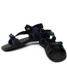 Puma Woody Black Floater Sandals