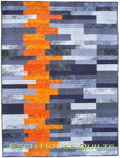 Sedimentary - Paper Quilt Pattern by Esch House Quilts House Designers | Modern quilting fabrics by Pink Castle Fabrics
