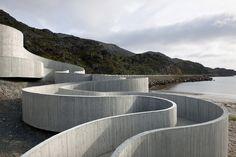 Selvika National Tourist Route   Reiulf Ramstad Architects