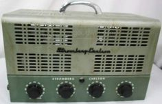 Vintage Stromberg-Carlson AU58B Tube Amplifier!