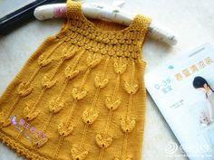 1-3岁左右儿童毛衣背心春芽 有中文图解和过程_儿童毛衣_编织人生手工编织网