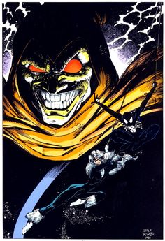 Spider-Man and the Black Cat in the shadow of the Hobgoblin by Art Adams from Marvel Fanfare remastered by The Marvel Project. Comic Book Artists, Comic Book Characters, Comic Artist, Comic Books Art, Comic Movies, Marvel Villains, Marvel Comics Art, Hobgoblin Marvel, Spider Men