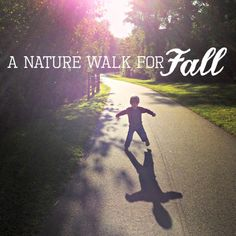 A Nature Walk for Fall