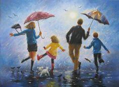 A happy family...
