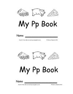 Emergent Reader: My Pp Book: Sight Words (we, like, the)  12 pages - Many more emergent readers available - $