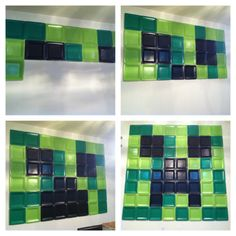 minecraft party ideas | Minecraft party ideas. Wall creeper. Just use paper ... | Party Ideas