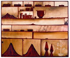 Daze 1994 Shane Cotton Painter Artist, Artist Painting, Contemporary Landscape, Contemporary Artists, Cotton Painting, New Zealand Art, Nz Art, Maori Art, Global Art