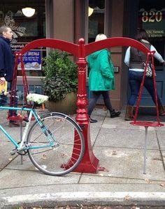 Justice for bikes    #bikeracks #bicycleracks