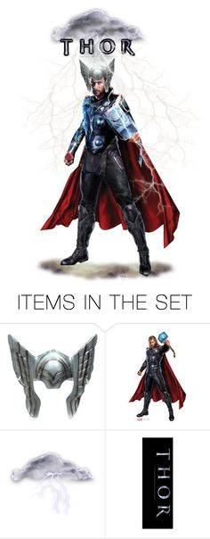 """Men Doll sets contest"" by nansgd ❤ liked on Polyvore featuring art, Avengers and thor"
