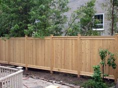 Awesome Modern Front Yard Privacy Fences Ideas - All For Garden Front Yard Decor, Modern Front Yard, Front Yard Fence, Modern Fence, Fenced In Yard, Low Fence, Small Fence, Lattice Fence, Horizontal Fence