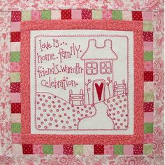 Love Is - 9 Part Block of the Month: Block 1