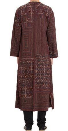 Dries Van Noten Bullion Embroidered Robe - Trenchcoats - Barneys.com