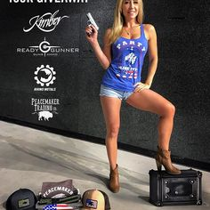 100k GIVEAWAY!!! It's time to party like it's 1776!! I can't even contain my excitement!  I truly feel like I have the best followers and to show appreciation for your support, we have put together the best giveaway ever!! Here's what you can win: - Kimber Micro 9 (all FFL rules apply) - ReadyGunner $500 gift card - Rhino Metals personal safe - Peacemaker Trading Apparel  Oh ya! One lucky person will win it all! Here's how you enter:  1. Follow @buff_cookie • @readygunner • @kimberamerica •…