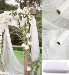 x Mariage Yarn Tulle Roll Sheer Crystal Organza Fabric Birthday Event Party Supplies for Wedding. title: x Mariage Yarn Tulle Roll Sheer Crystal Organza Fabric Birthday Event