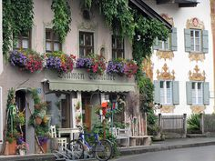 Oberammergau, Germany. Repinned by www.mygrowingtraditions.com