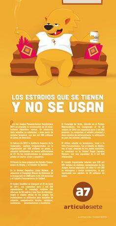 Estadios que fueron construidos para los Juegos Panamericanos Guadalajara 2011 y no se usan