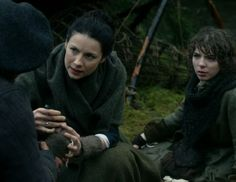 "Fergus and Claire Fraser (Caitriona Balfe)  in Episode 211 ""Vengeance is Mine"" of Outlander Season Two on Starz"