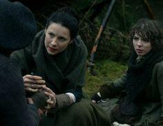 "Fergus and Claire Fraser (Caitriona Balfe)  in Episode 211 ""Vengeance is Mine"" of Outlander Season Two on Starz"