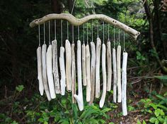 Large chimes by DriftwoodMobiles on Etsy, $45.00