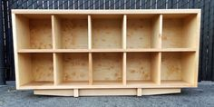 Record storage by MonkeHaus on Etsy