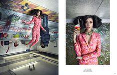 Suit / Pink Tartan Collar / American Retro Shoes / Dolce & Gabbana